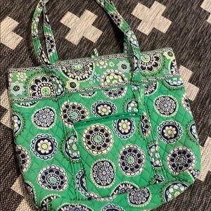 Vera Bradley medium tote - Green Paisley